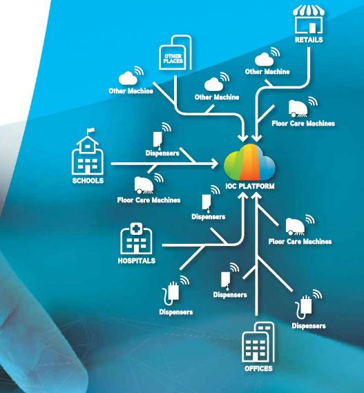b9cb7477960c На данном этапе предлагают подключать диспенсеры и поломоечные машины в  единую систему, можно следить за расходом и использованием онлайн.