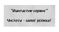 Фантастик-сервис