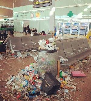 В испанском аэропорту проходит забастовка уборщиков |