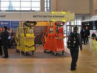 Компания Метро Вагон-Клининг представила комплекс по уборке рельсового транспорта  