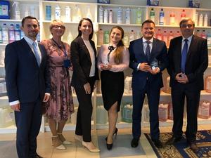 Клининговая компания ДАКО получила премию СККР Чистая Россия 2017 |