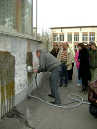 23 и 24 апреля Clean Studio и Алфаком Коммерс провели семинар - Методы и технологии уборки фасадов и окон. Парогенераторы  