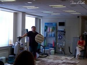 Тарас Дударь провел в Москве практический тренинг  |