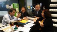 Pulire фото-репортаж: лица и мнения. Планы итальянских поставщиков на Российский рынок в 2015 |