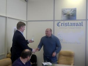 Компания Кристанваль получила премию Чистая Россия от СККР |