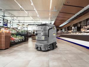 Робот Karcher KIRA B50 занял первое место в номинации - Инновации |