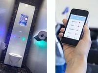 SCA запускает 2 инновационных IT-сервиса для обслуживания туалетных комнат |