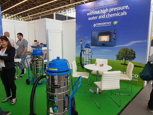 В Амстердаме проходит выставка Interclean 2018 (фотоотчет, часть 1)