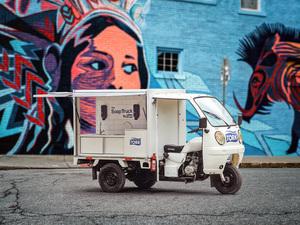 Tork поставил мыльный фургон в Рио-де-Жанейро |
