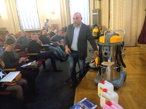 В Москве прошел семинар - Роль профессионального оборудования в современном клининге |
