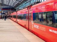 Idalika рассказала как моет поезда компании Аэроэкспресс |