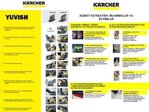 Керхер разработал наглядные инструкции на таджикском и узбекском языках |