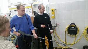 В Москве открылся новый Керхер Центр (фотоотчет)  
