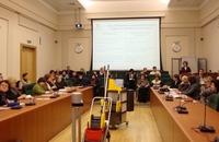 Современные технологии профессиональной уборки - такой семинар провела АРУК и администрация Колпинского района | Аудитория собралась представительная