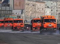 Дороги в Москве перед зимой помоют специальным шампунем от Kiehl |
