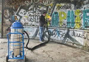 Easy and effective graffiti removal