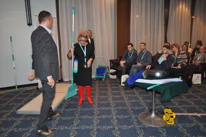 В Москве прошла деловая встреча, посвященная уборочному инвентарю (фотоотчет) |