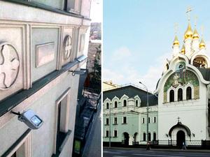 Абсолют Клининг Сервис провёл очистку фасада Свято-Дивеевского монастыря |
