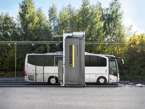 Керхер установил мойку для автобусов Артека |