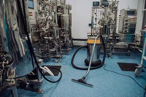 Компания Лир из Казани провела тестирование промышленного пылесоса (видео) |
