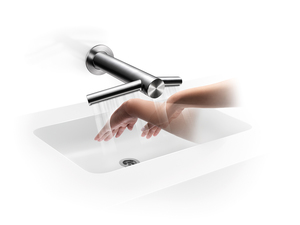 Dyson представляет новую сушилку для рук Airblade Wash+Dry |