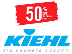 Продукция KIEHL дешевле на 50% от базовой стоимости |