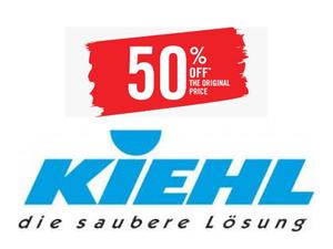 Моющие средства KIEHL дешевле на 50% от базовой стоимости |