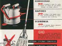 В 1956 году была представлена первая модель испанской швабры |