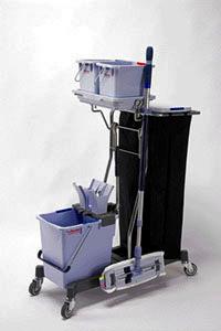 Мини-тележка УльтраСпид Волео  - готовый набор для уборки |