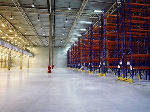 Компания Керхер стала использовать новый склад |