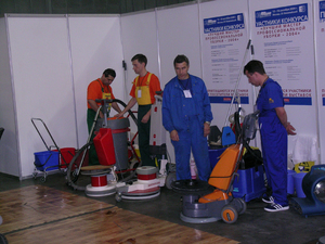 История профессиональной уборки - Clean Expo 2004 в Москве (фотоотчет) |