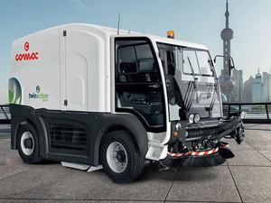 Comac открыл департамент по производству уличных подметальных машин |