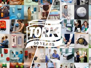 В 2018 году торговая марка Tork отмечает свой 50-летний юбилей |