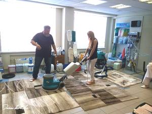 6 октября пройдет семинар Тараса Дударь по чистке ковров |
