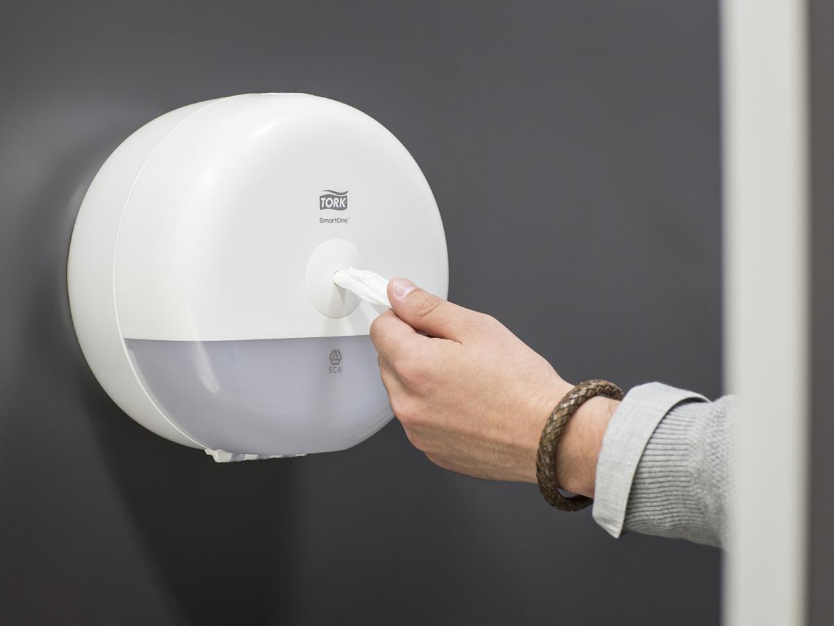 дозатор для туалетной бумаги